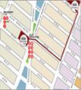 Manhattan Bookstore/ Street & Subway Map