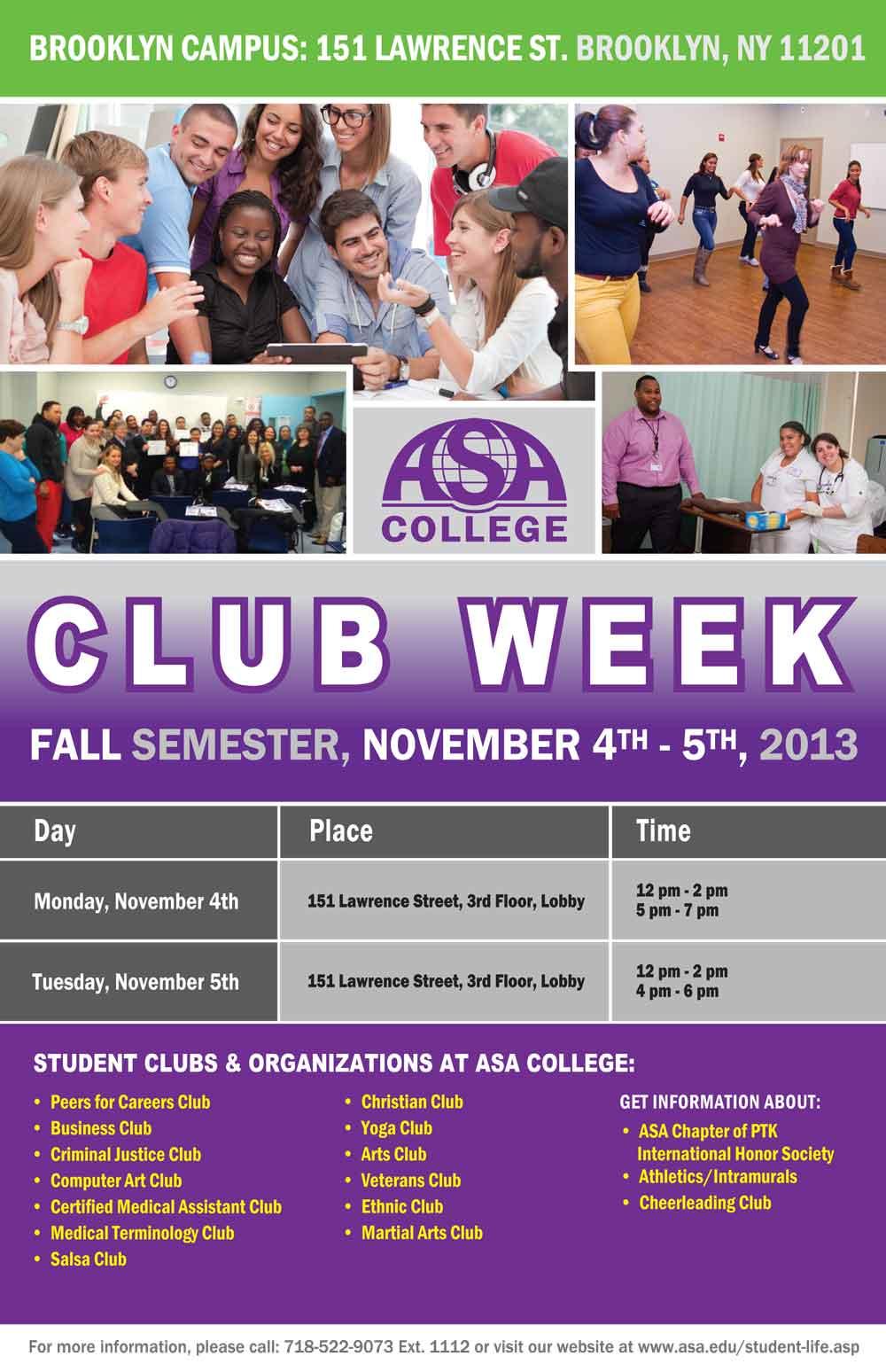 Club Week Brooklyn