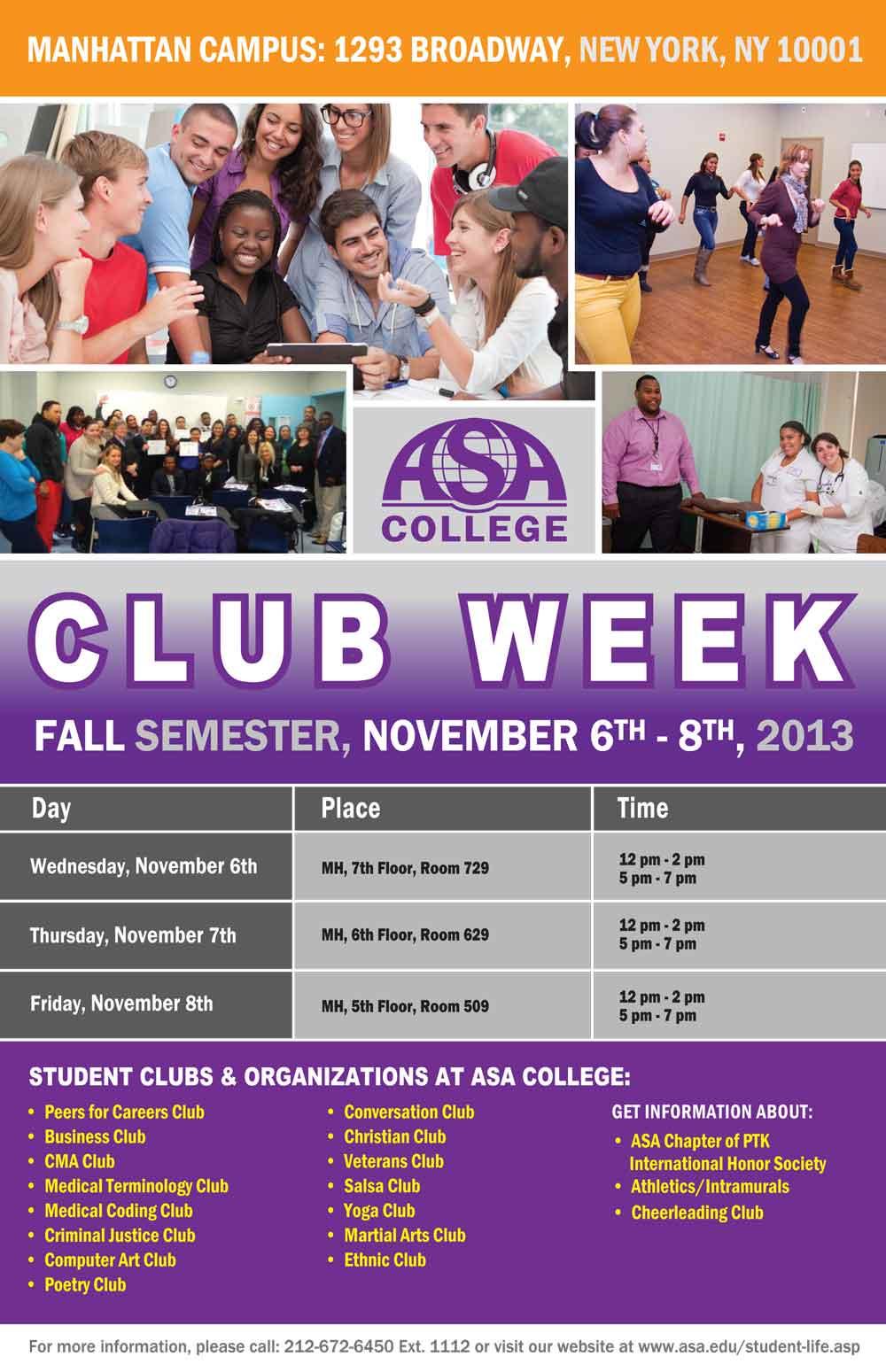 Club Week Manhattan