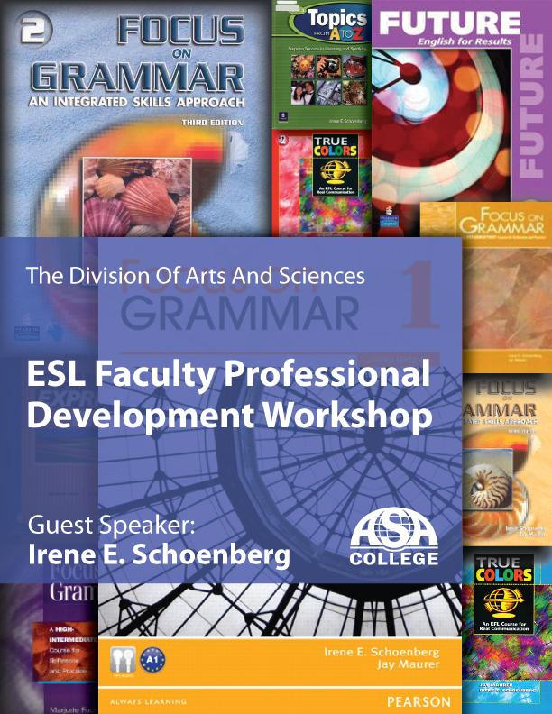 ESL Faculty Professional Development Workshop