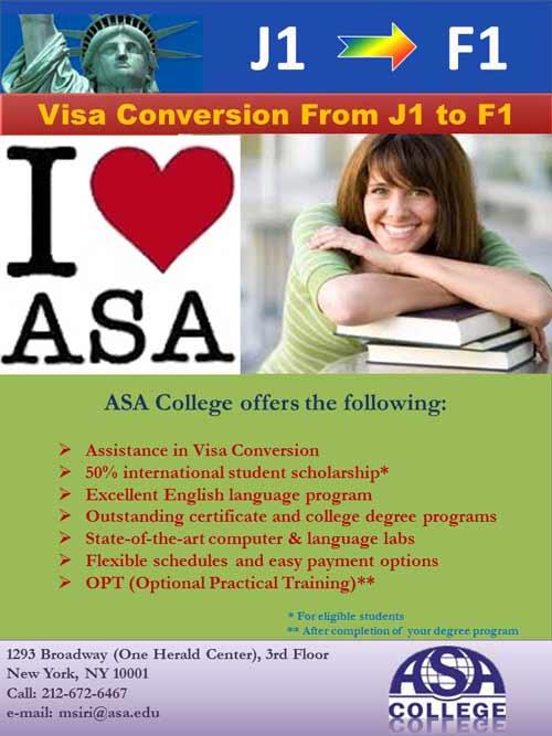 J1 to F1 Visa Help