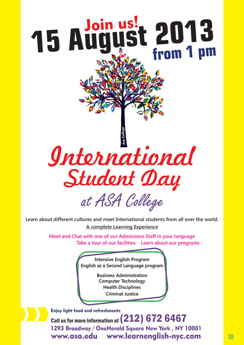 2013 International Day at ASA College