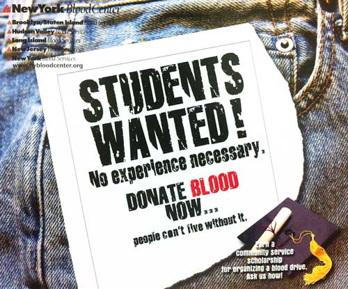 New York Blood Center Poster