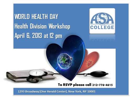 ASA's World Health Day