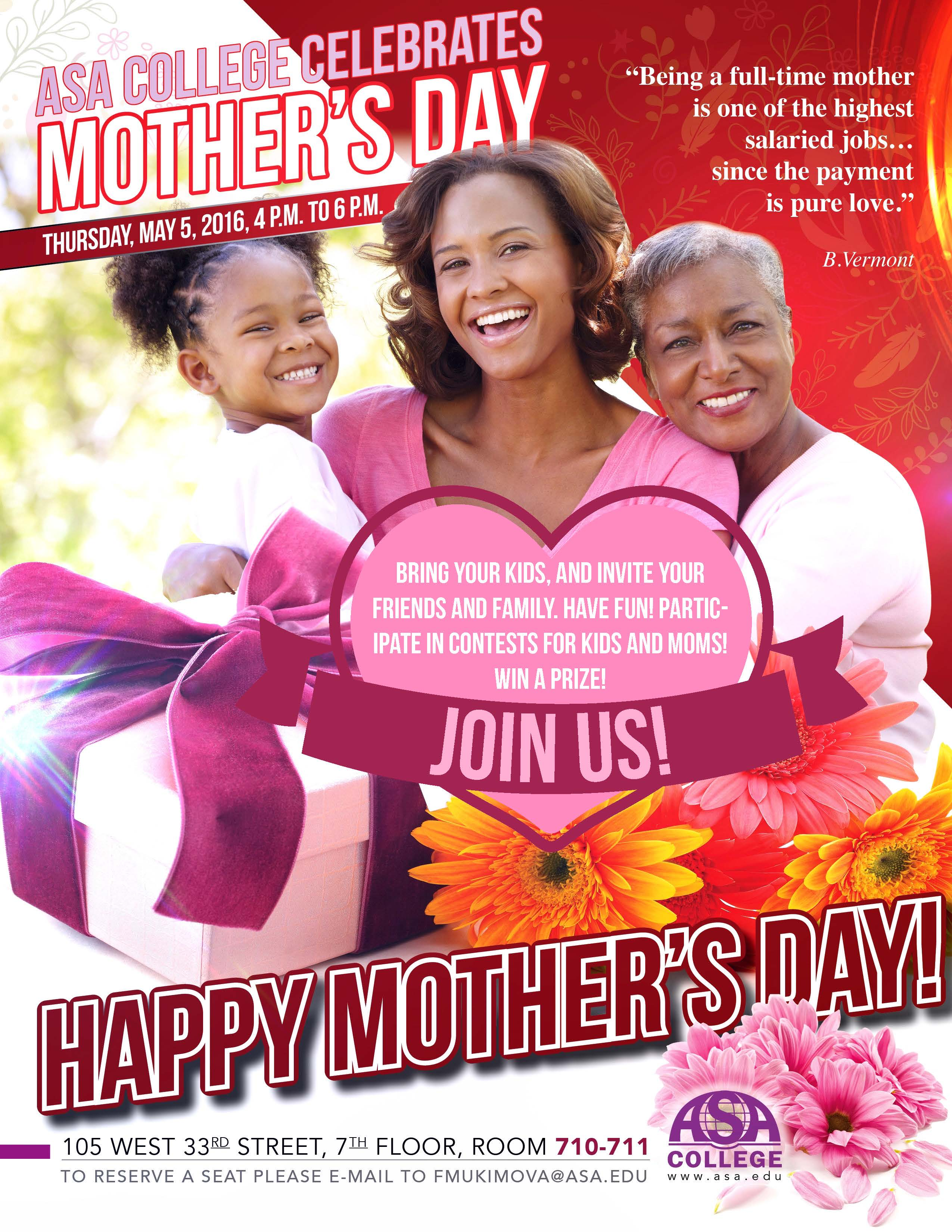 2016 Mother's Day Image