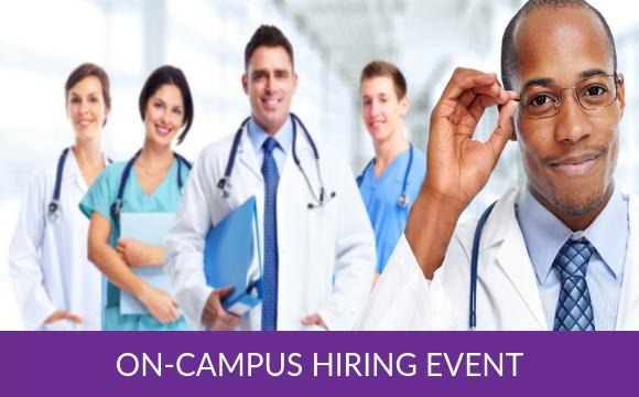 On-campus Hiring Event