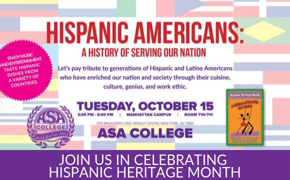 Join us in Celebrating Hispanic Heritage Month