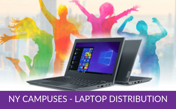 NY Campuses – Laptop Distribution