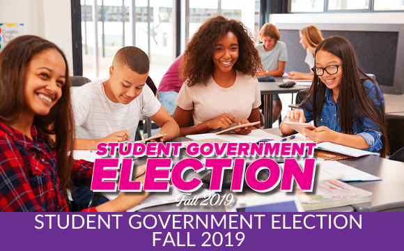 Student Government Election – Fall 2019