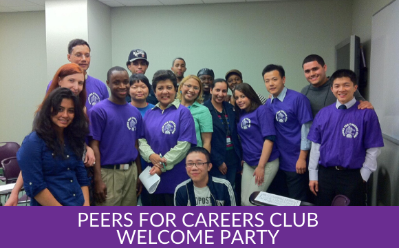 Peers For Careers Club – Welcome Party