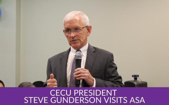 Gallery: CECU President Steve Gunderson Visits ASA