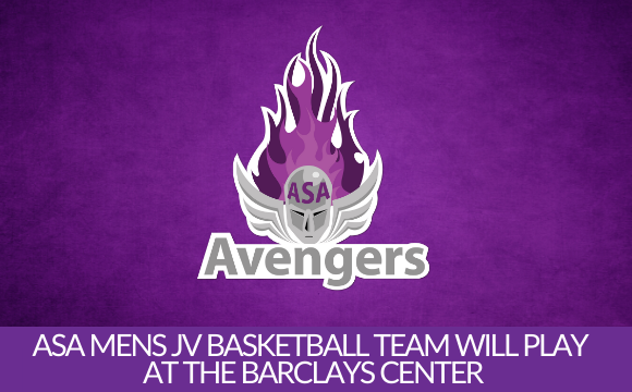 ASA Mens JV Basketball team will play at the Barclays Center