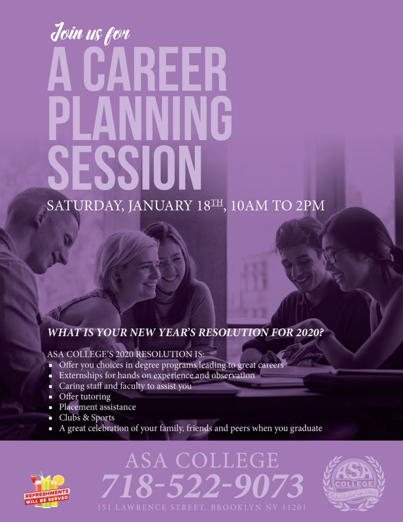 A Career Planning Session at ASA College Brooklyn, NY