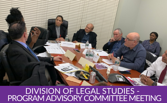 Gallery: ASA Division of Legal Studies kicked off its Program Advisory Committee meetings