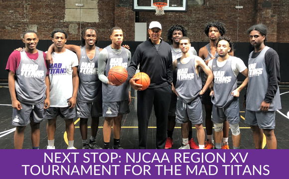 Next Stop: NJCAA Region XV Tournament for the Mad Titans