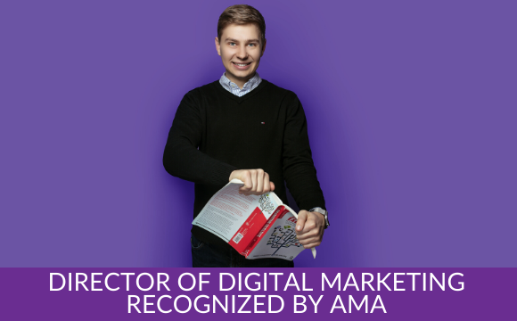 ASA's Director of Digital Marketing Recognized by American Marketing Association (AMA)