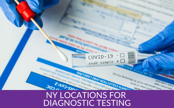 There are over 700 locations where New Yorkers can get diagnostic testing.