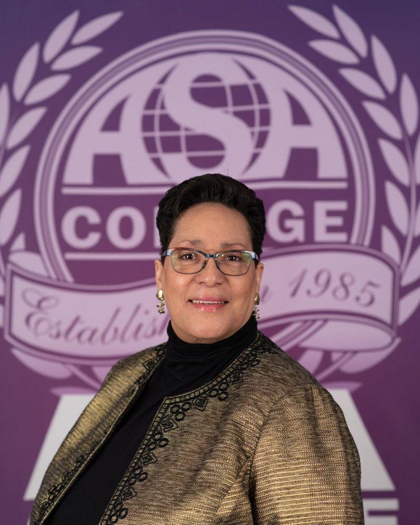 ASA College Board of Trustees' Chairwoman Julanne Reid