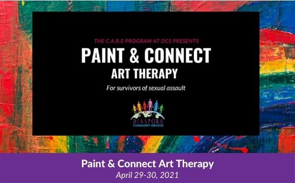 Paint & Connect Art Therapy by DCS