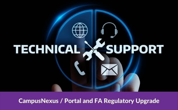 CampusNexus / Portal and FA Regulatory Upgrade