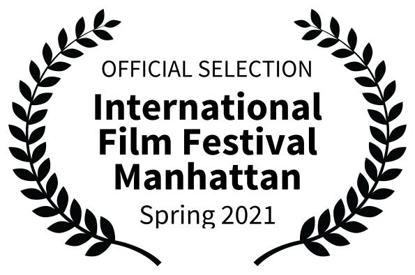 Official Selection, International film festival Manhattan logo