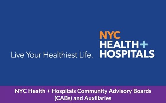 NYC Health + HospitalsCommunity Advisory Boards and Auxiliaries