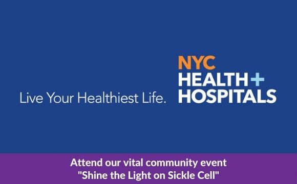 """NYC Health + Hospitals Events """"Shine the Light on Sickle Cell"""""""
