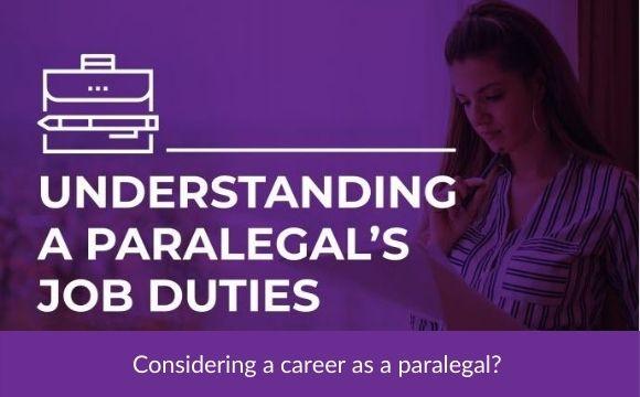 Understanding a Paralegal's Job Duties